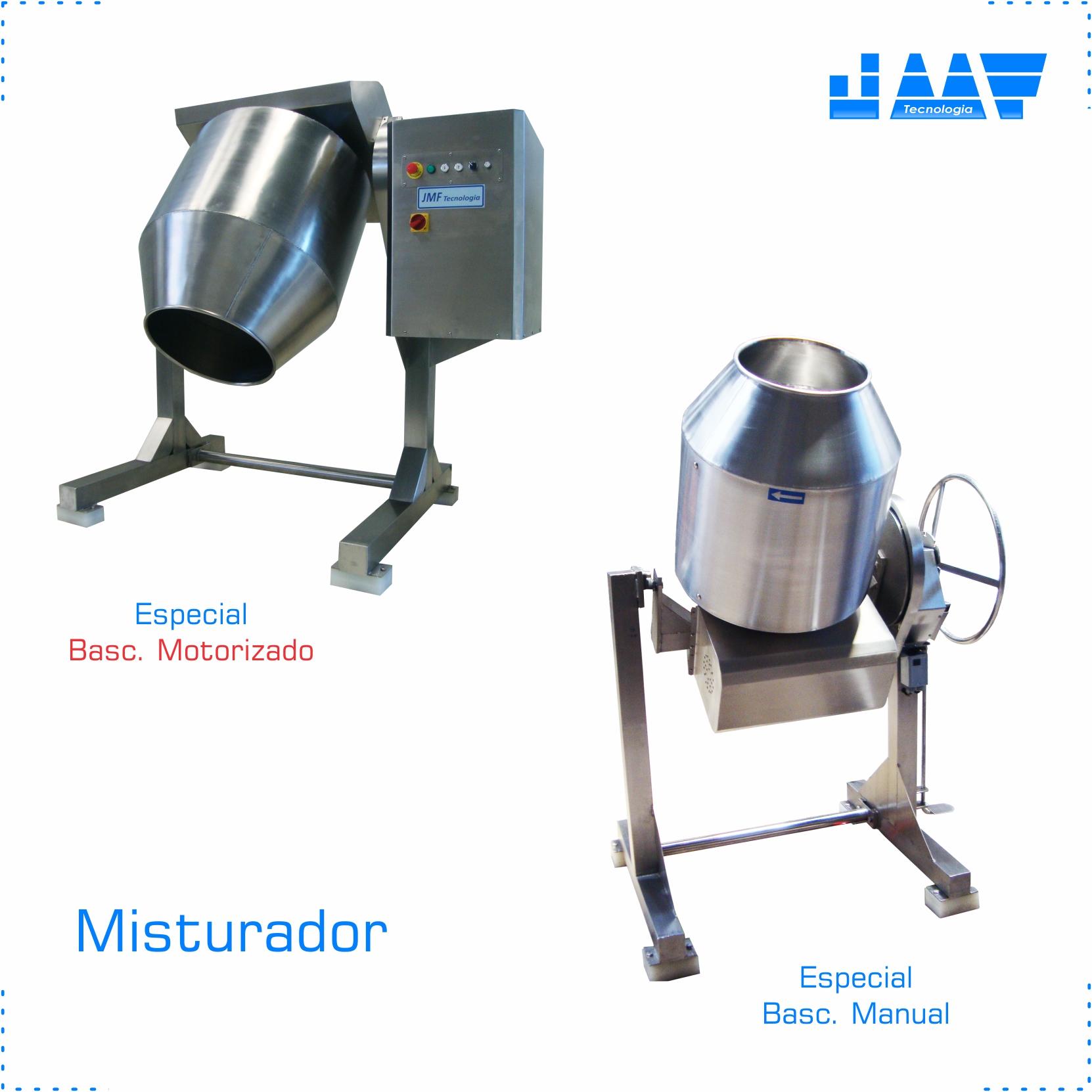 Misturador em AÇO INOX – Para Produtos Escaldados, Legumes e outros alimentos.