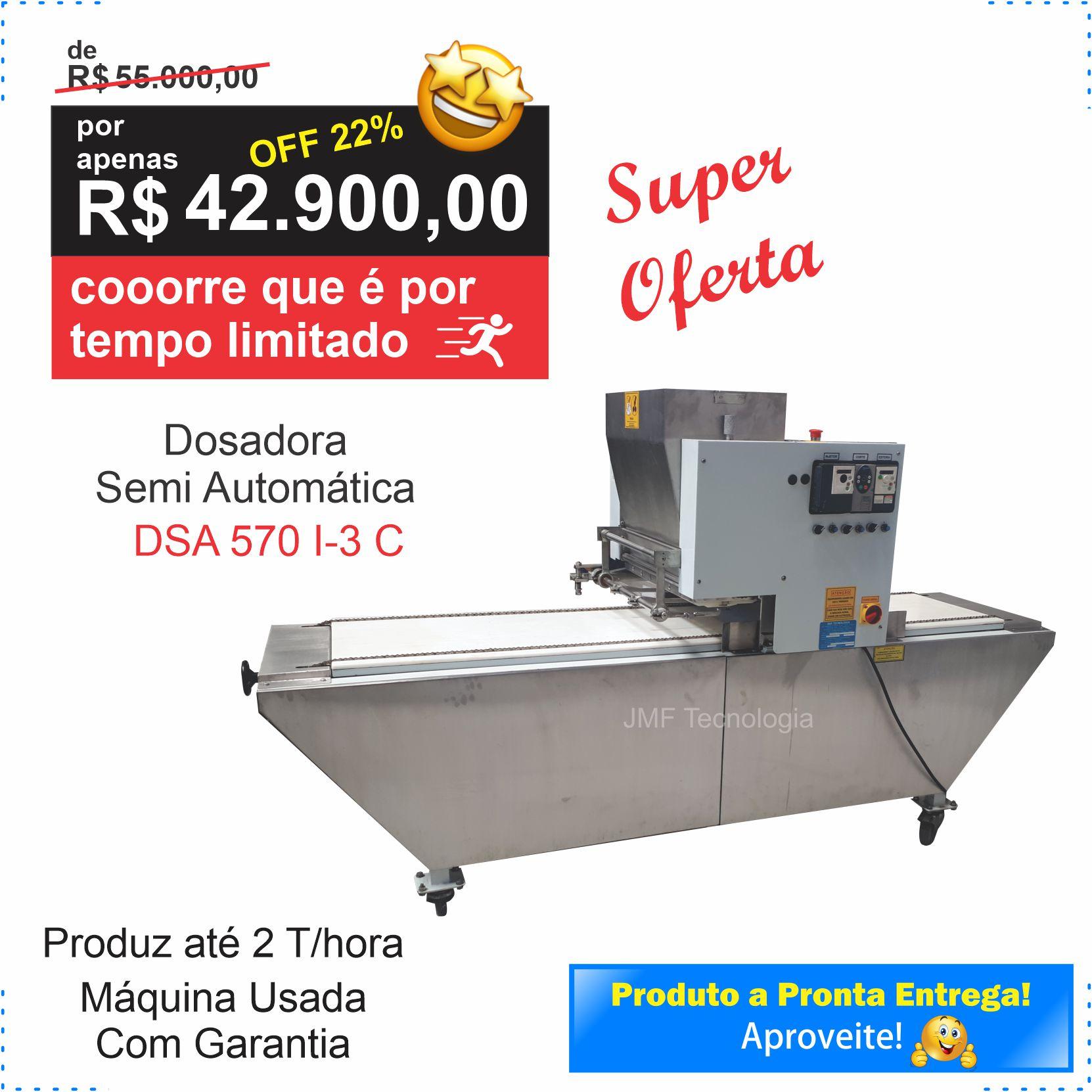 Dosadora Semi Automática (DSA 570 I-3 Convencional) – Usada