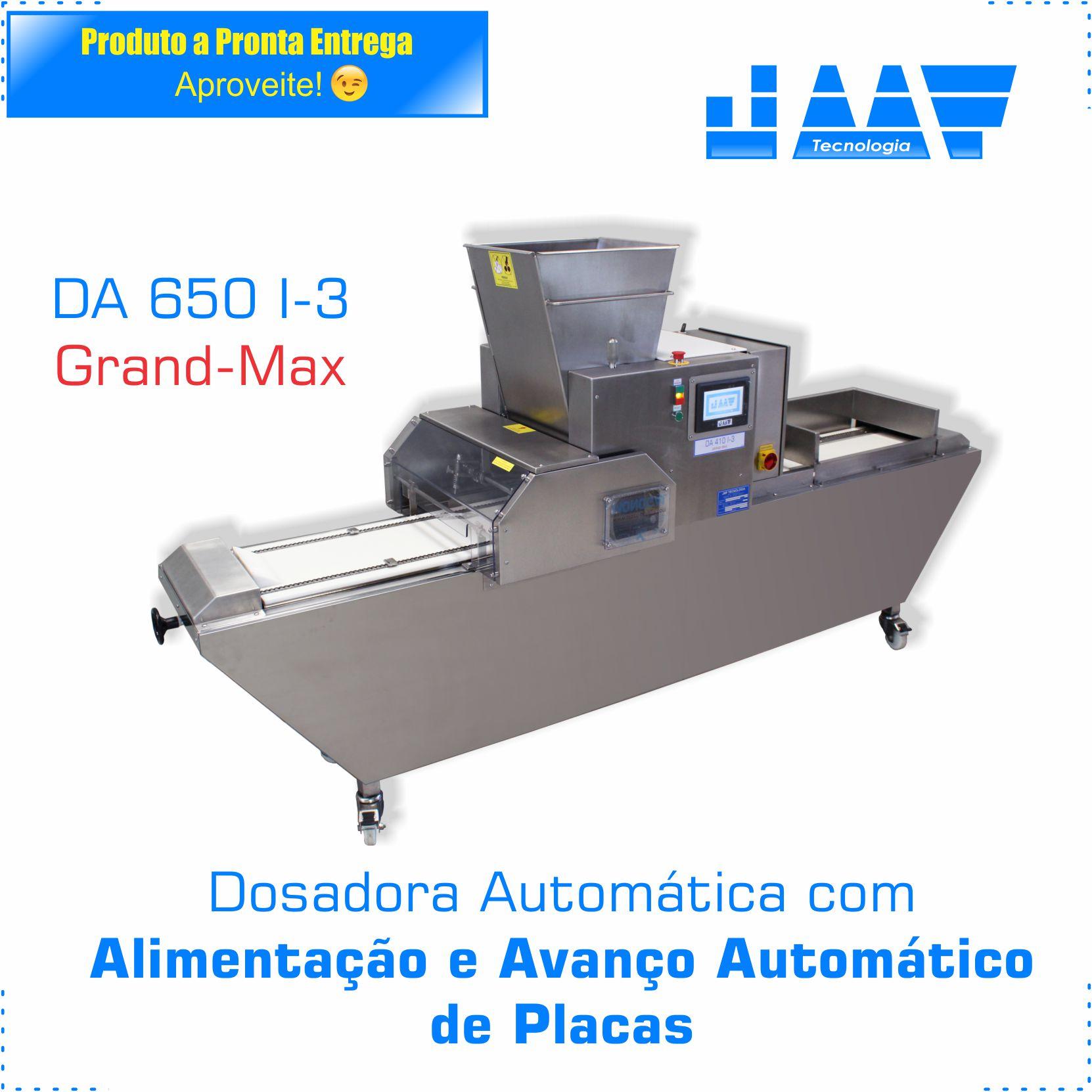 Dosadora Automática (DA 650 I-3 Grand-Max)