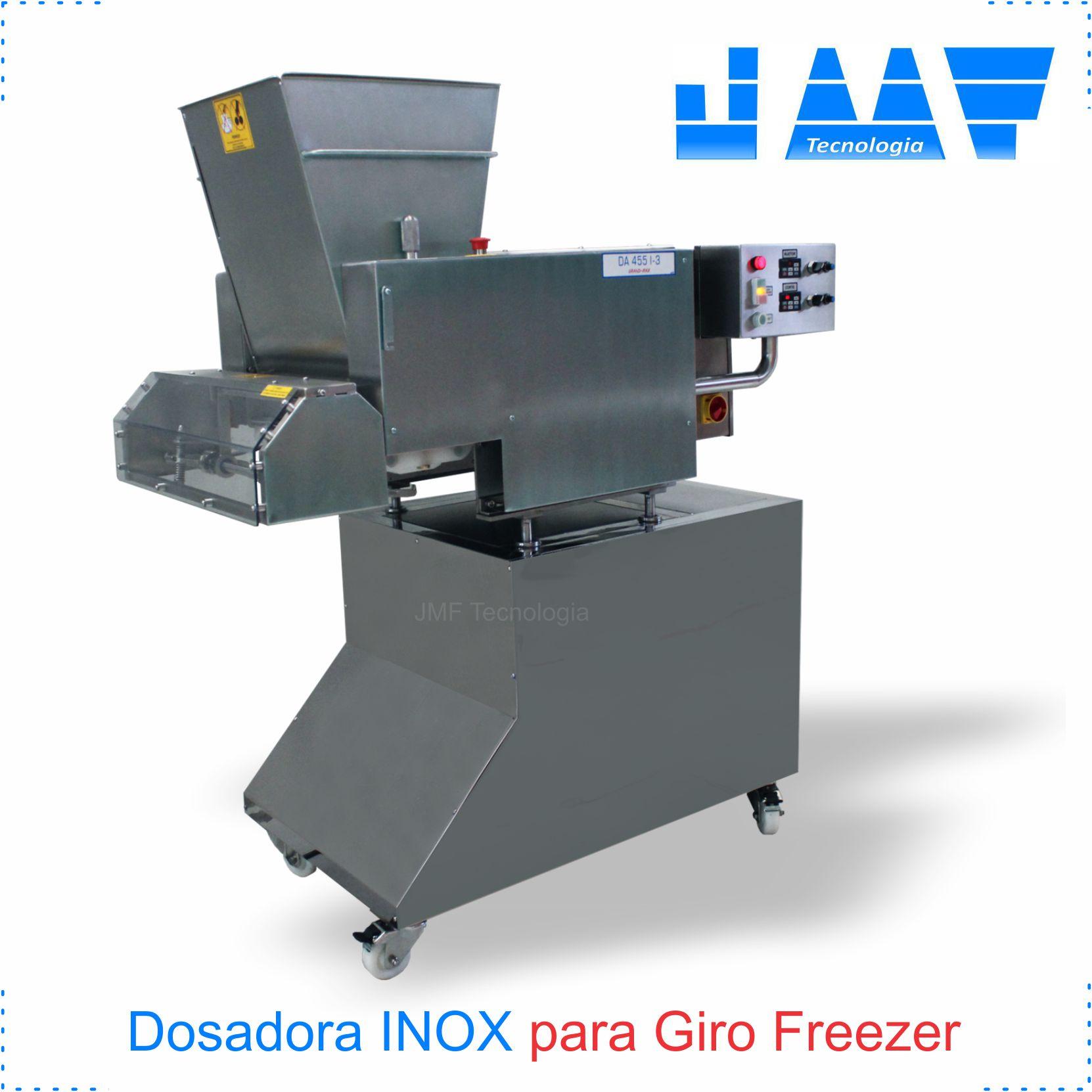 Dosadora para Giro Freezer