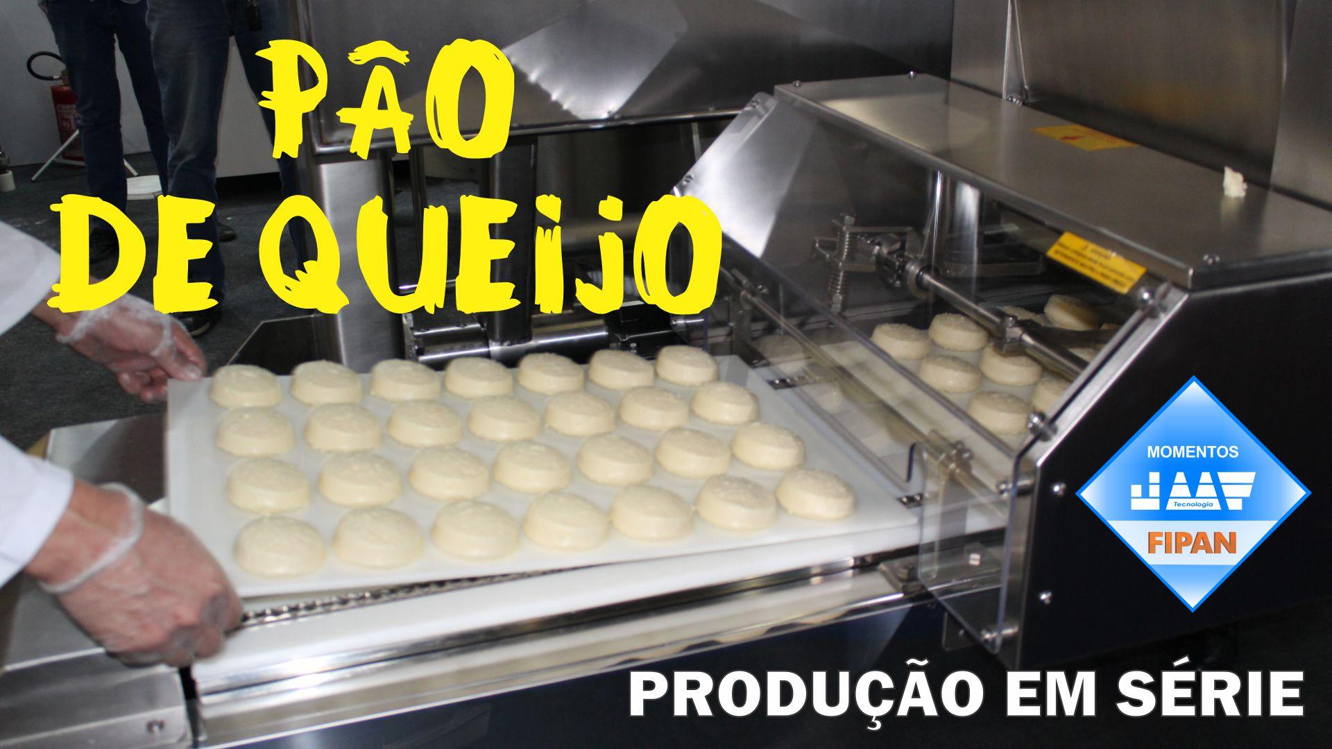Um pouquinho da FIPAN 2019. Linha de Produção Automatizada. Até 1,3 T/hora de Pão de Queijo!