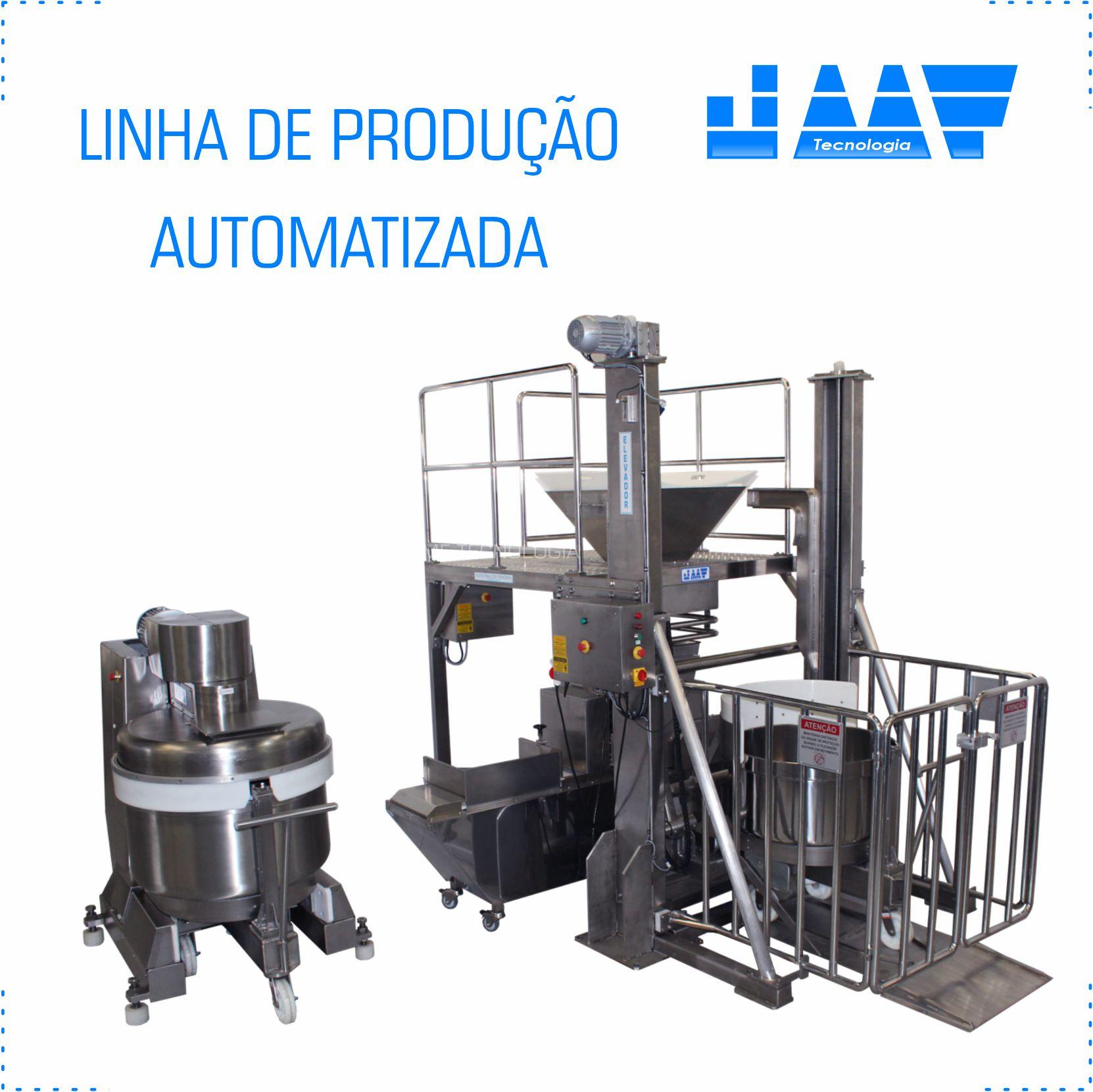 Linha de Produção Automatizada – Kit