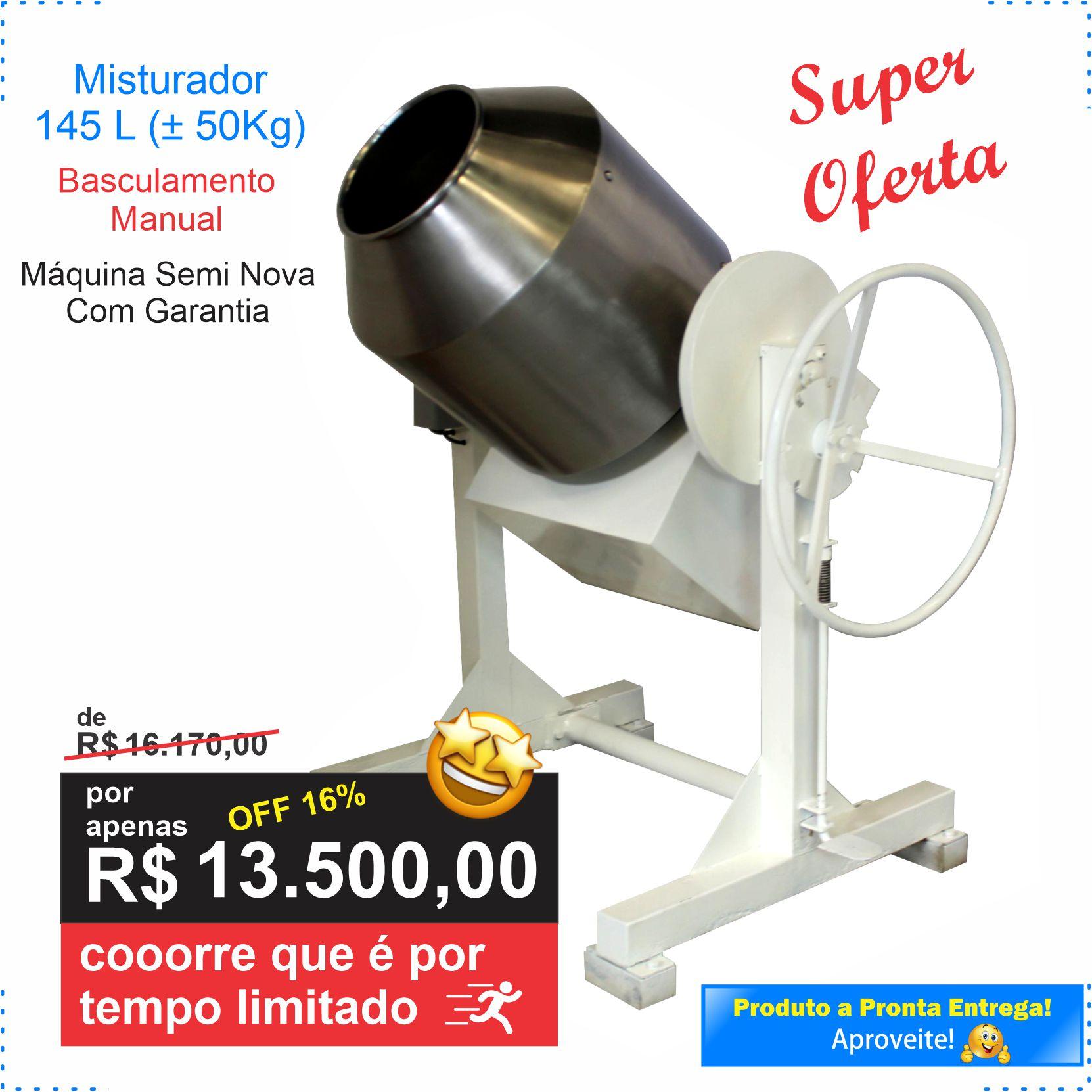 Misturador 145L – Semi Novo